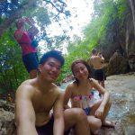タイの天然のドクターフィッシュに会いに。エラワンの滝へ。