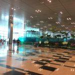 世界一快適な空港☆シンガポールのチャンギ空港のラウンジへ。【プライオリティ】