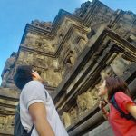 ジョグジャカルタ観光!プランバナン寺院のサンセットを見に。