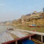 インドのバラナシに来たら欠かせない場所、ガンジス川。