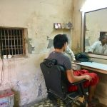 インドでヘアーカットしたら。