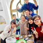 日本語学校のみんなと、から揚げを作ろう!
