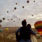 絶景!!カッパドキアの気球とウェディングフォト