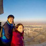 気球に乗ったぞー!!上空から見下ろすカッパドキアの絶景!